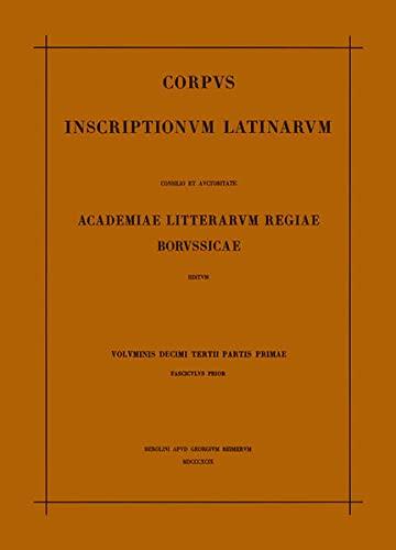 9783110014051: Inscriptiones Aquitaniae Et Lugdunensis (Latin Edition)