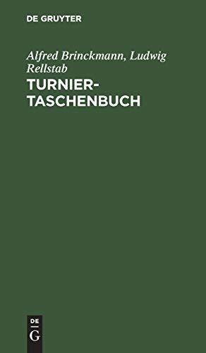 9783110016574: Turnier-Taschenbuch