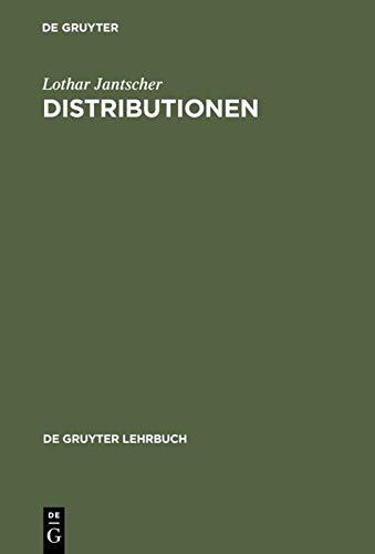 9783110019728: Distributionen