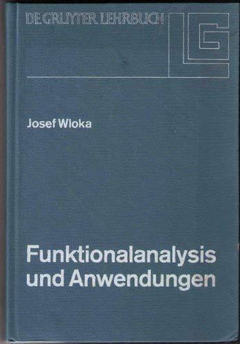 9783110019896: Funktionalanalysis Und Anwendungen (de Gruyter Lehrbuch) (German Edition)