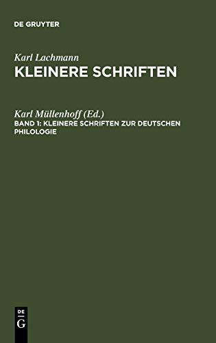 Kleinere Schriften zur deutschen Philologie (German Edition): Karl Müllenhoff
