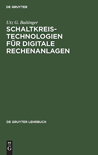 9783110036978: Baitinger: Schaltkreistechno-Logien Lg (German Edition)
