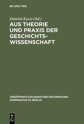 Festschrift für Hans Herzfeld zum 80. Geburtstag. Hrsg. von Dietrich Kurze.: HERZFELD, Hans: ...