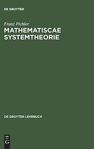 9783110039092: Matematische Systemtheorie: Dynamische Konstruktionen