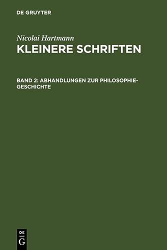 9783110053166: Abhandlungen zur Philosophie-Geschichte