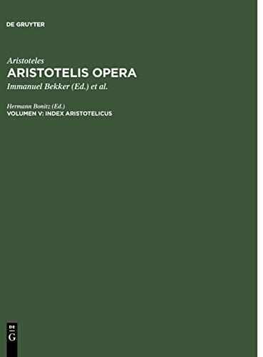 Index Aristotelicus
