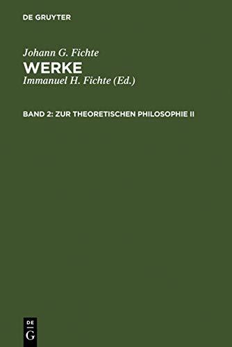 9783110064889: Zur theoretischen Philosophie II
