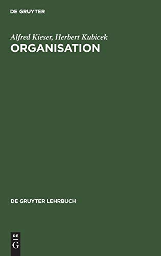 9783110065657: Organisation