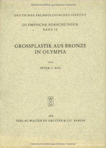9783110067019: Grossplastik aus Bronze in Olympia (Olympische Forschungen) (German Edition)