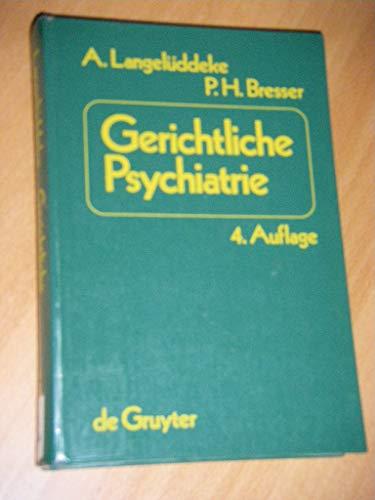 9783110067774: Langeluedecke/Bresser: Ger. Psychiatrie Ae 4a