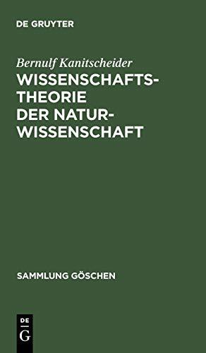 9783110068115: Wissenschaftstheorie der Naturwissenschaft (Sammlung Gaschen) (German Edition)