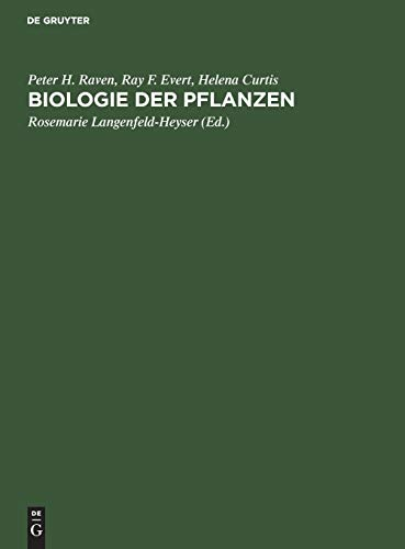 9783110074468: Biologie Der Pflanzen