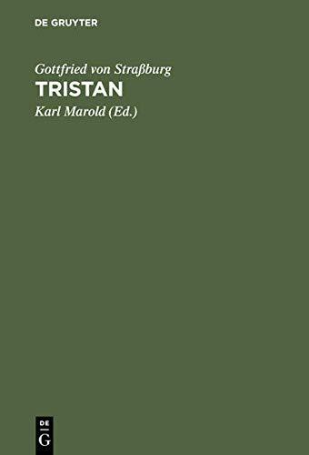 9783110075168: Tristan. Text und kritischer Apparat.