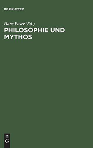 9783110076011: Philosophie Und Mythos: Ein Kolloquium (German Edition)