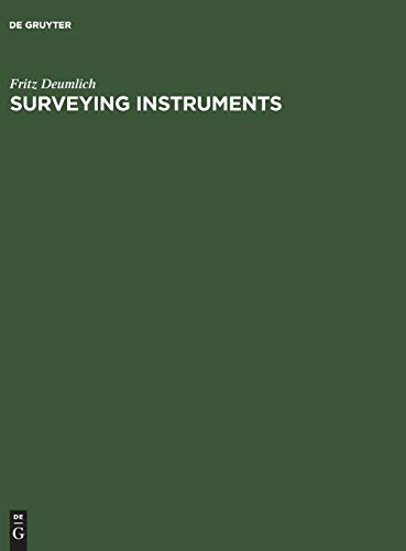 Surveying Instruments: Fritz Deumlich