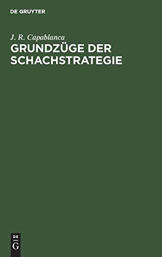 9783110079203: Grundzüge der Schachstrategie