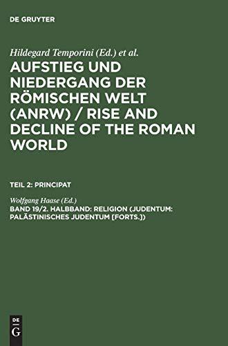 9783110079692: Religion (Judentum: Palästinisches Judentum [Forts.])