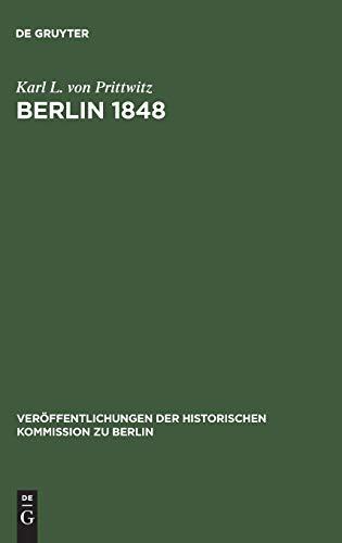 Berlin 1848: Karl L. von Prittwitz