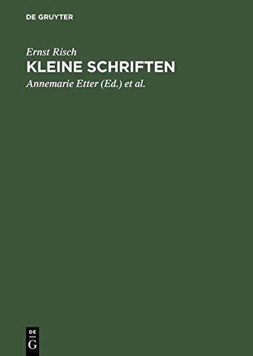 9783110084108: Kleine Schriften: Zum siebzigsten Geburtstag