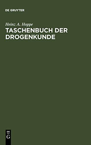 9783110084382: Taschenbuch der Drogenkunde