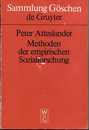 9783110088793: Methoden der empirischen Sozialforschung