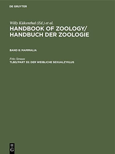 9783110089455: Handbook of Zoology: A Natural History of the Phyla of the Animal Kingdom (German Edition)