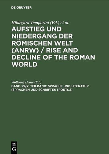 9783110095258: Sprache Und Literatur (Sprachen Und Schriften [Forts.])