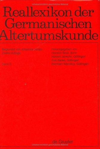 Reallexikon der Germanischen Altertumskunde - (nur) Band: Johannes Hoops (Hg.)