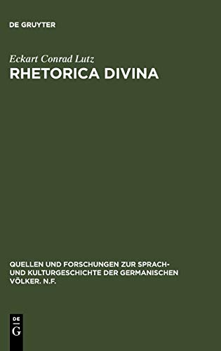 Rhetorica divina. Mittelhochdeutsche Prologgebete u. die rhetorische Kultur des Mittelalters.: ...