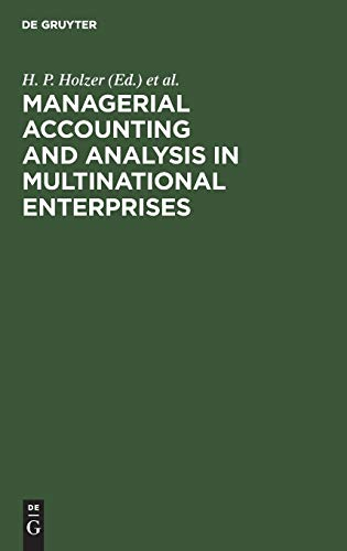Managerial Accounting & Analysis in Multinational Enterprises