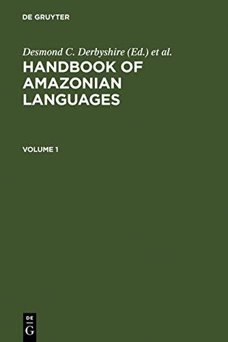 9783110102574: Handbook of Amazonian Languages Volume 1 (v. 1)