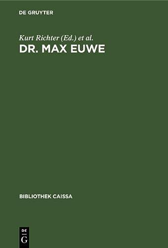 Dr. Max Euwe: e. Ausw. seiner besten