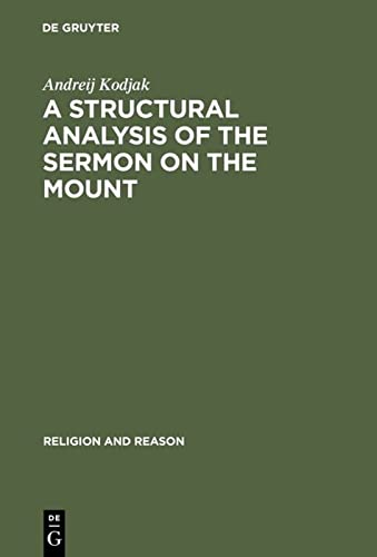 Structural Analysis of the Sermon on the Mount: Kodjak, A.
