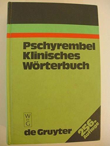 9783110108811: Pschyrembel Klinisches Worterbuch: Mit Klinischen Syndromen Und Nomina Anatomica