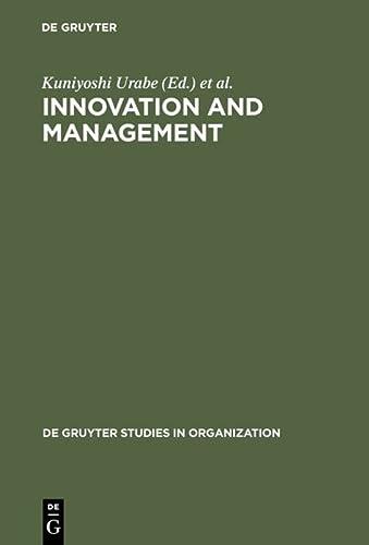 9783110110074: Innovation and Management: International Comparisons (De Gruyter Studies in Organization)