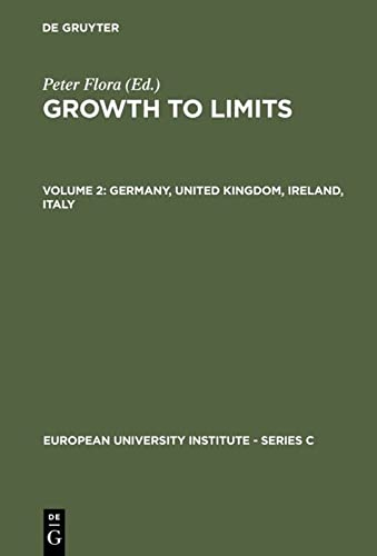 9783110111316: 2: Growth to Limits: The Western European Welfare States Since World War II : Germany, United Kingdom, Ireland, Italy