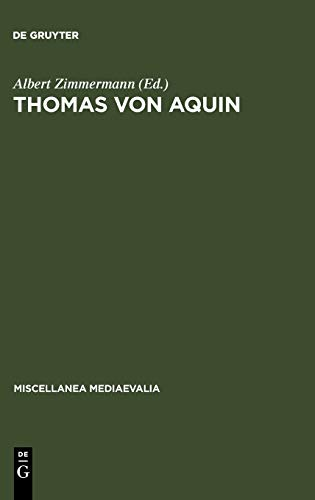 9783110111798: Thomas von Aquin (Miscellanea Mediaevalia) (German Edition)