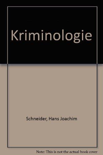 9783110111972: Kriminologie (German Edition)