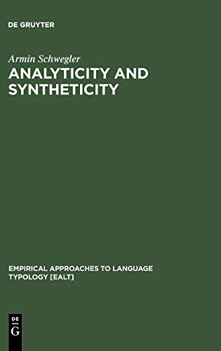 9783110112450: Analyticity and Syntheticity (Empirical Approaches to Language Typology)