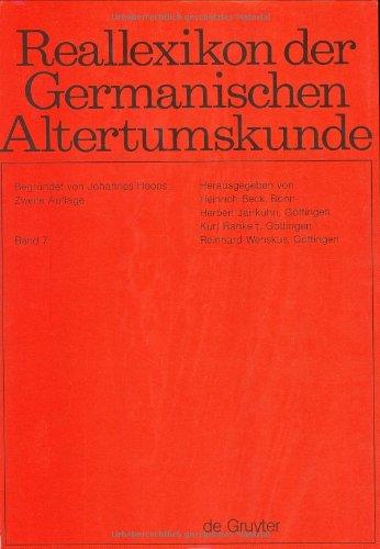 Reallexikon Der Germanischen Altertumskunde: Einfache Formen-Eugippius (German: Johannes Hoops, Heinrich