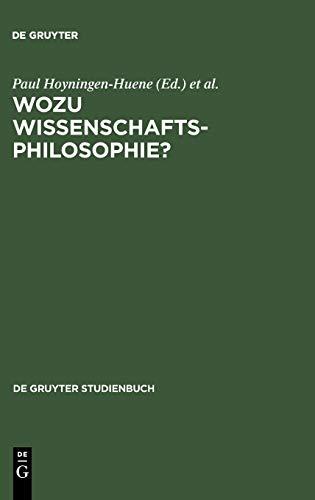 9783110114720: Wozu Wissenschaftsphilosophie? (de Gruyter Studienbuch)