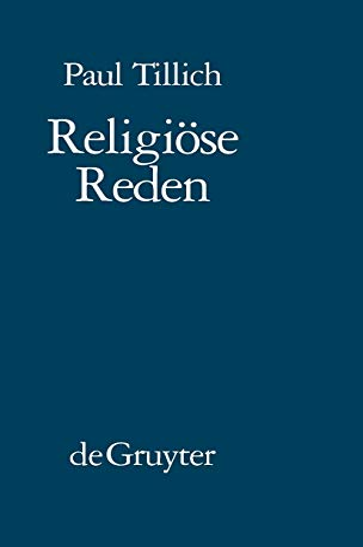 Religiöse Reden: Paul Tillich
