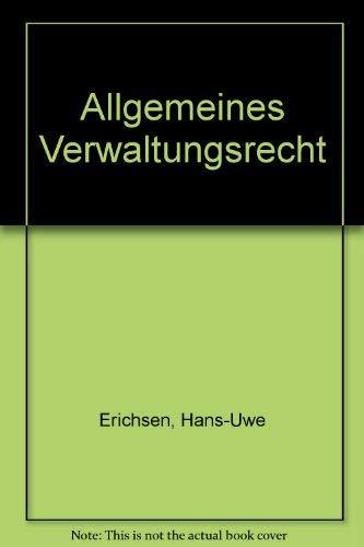 9783110117028: Allgemeines Verwaltungsrecht