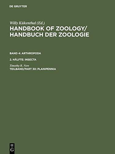 9783110118872: Handbook of Zoology/ Handbuch der Zoologie, Teilband/Part 30, Planipennia
