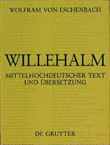 9783110119435: Willehalm