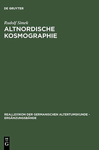 Altnordische Kosmographie: Rudolf Simek