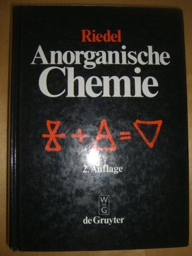 9783110123210: Anorganische Chemie