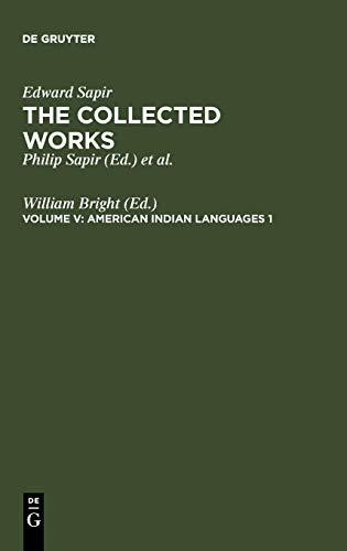 American Indian Languages 1: Bright, William