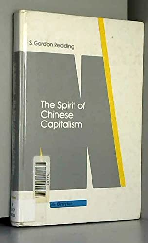 9783110123333: The Spirit of Chinese Capitalism