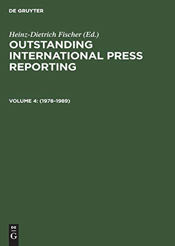 Outstanding International Press Reporting: Pulitzer Prize Winning